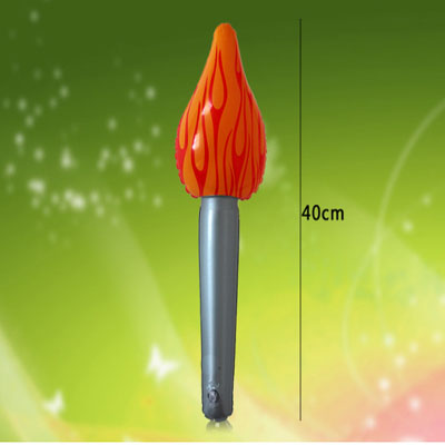 Children's Inflatable Toy Flame Torch Baby Play House Toy Flame Children's Inflatable Toy Torch Stick