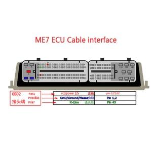 Image 5 - 81 Pins Obd Diagnostic Tools OBD2 Connectors F + Dc EDC15 EDC15P EDC15P + EDC15V EDC15VM + ME7 Ecu Kabel voor Vag Groep