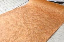 Width:62cm  L:2.5Meters  Thickness:0.25mm  Furniture decoration Yellow Cat Technology Birdseye Wood Veneer