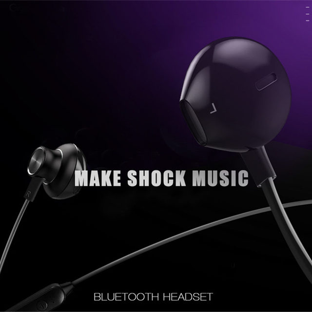 HYASIA Bluetooth 5.0 Earphone Wireless Earphone Sport Support TF Stereo Earbuds Magnet Bluetooth Earphone with Mic for Phone