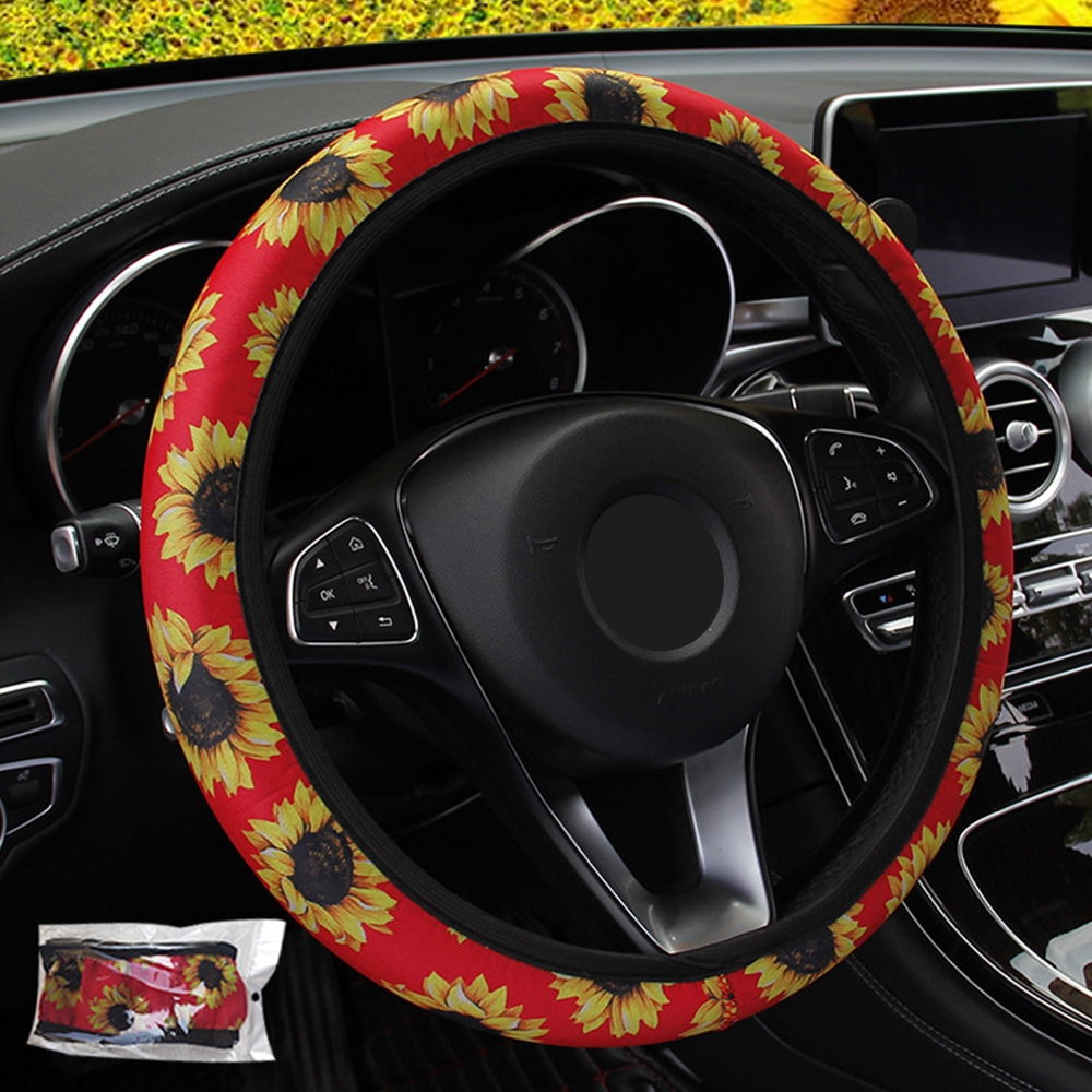 Fabulous Yellow Flower Steering Wheel Cover Andrewgaddart Wooden Chair Designs For Living Room Andrewgaddartcom