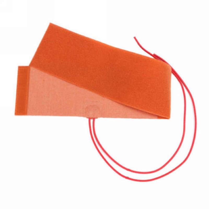 1pc silicone almofada de aquecimento 12 v 240 w 10x30cm 50cm elemento aquecedor de garrafa de silicone almofada de aquecimento flexível
