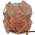 Элегантные серьги  отличное-полигональные кованого железа солевая лампа  медицинские приборы для использования в домашних условиях  насто...