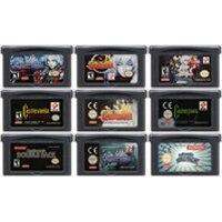 32 Bit Trò Chơi Hộp Mực Tay Cầm Thẻ Dành Cho Máy Nintendo GBA Castlevania Series Châu Á Của Nỗi Buồn Vòng Tròn Của Mặt Trăng Hài Hòa dissonanc