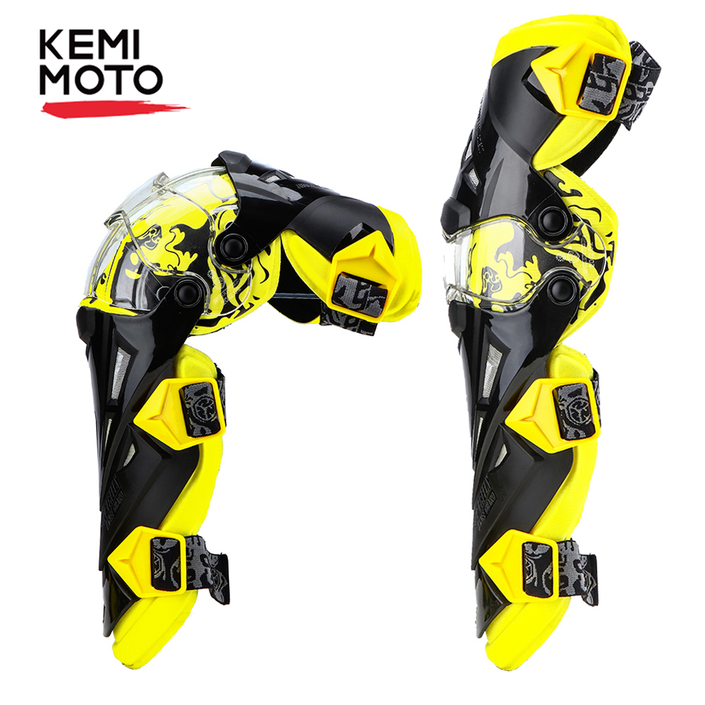 Kemimoto Protective-Gear Motorcycle-Knee-Pads Knee-Gurad Racing Rodiller Men title=