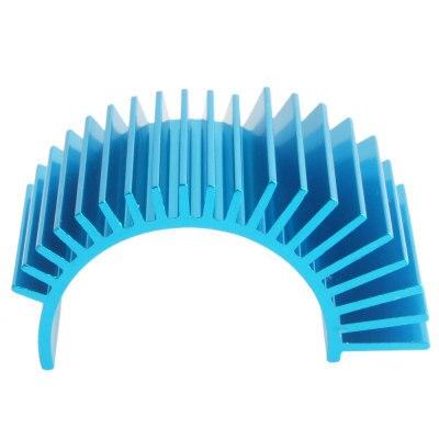 Części do zdalnie sterowanego samochodu silnik aluminiowy radiator rozpraszacz ciepła silnika dowód pokrywa dla 540 550 samochodów 7012 HSP 03300 1/10 modele w skali Himoto Redcat