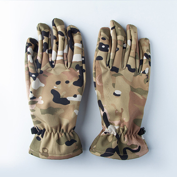 Quality Hunting Gloves Full Finger Plus Velvet Gloves Outdoor Tactical Camouflage Special Forces Cs Ski Riding Wild Hunting 5