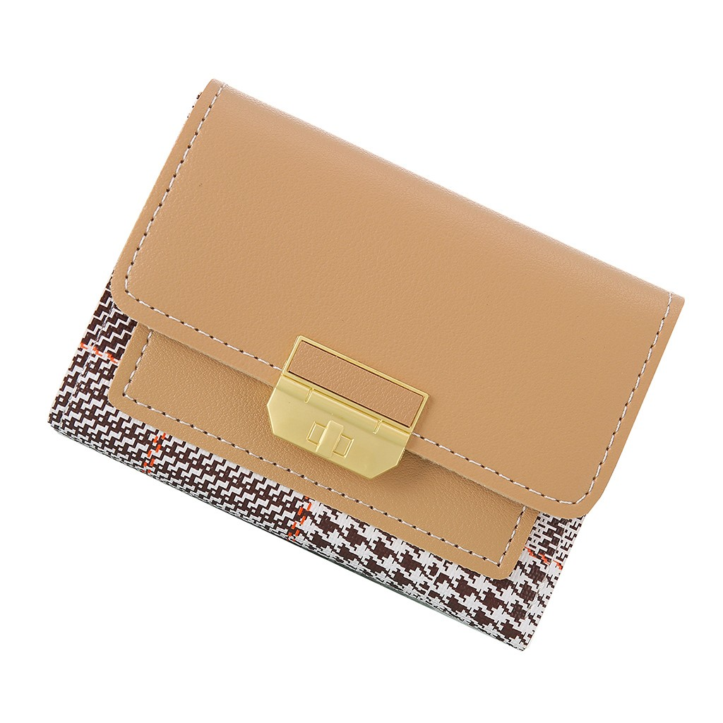 Women's Wallet 2020 Fashion Ladies Handbags Multi-layer Compartment Coin Purse Simple Purse Cards Holder Wallets Totes Bags