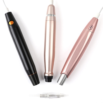 Charme Princesse Rotary Permanent Makeup Pen Professional Tattoo Machine for Eyebrow and Eyeliner Lip With Plug Cartridge Needle professional rotary tattoo machine pen powerful silent motor eyebrow lip eyeliner permanent makeup tattoo with needle cartridges