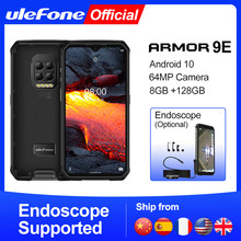 Ulefone armor 9e android 10 telefone robusto helio p90 octa-core 8gb + 128gb 2.4g + 5g wifi mobiliário 6600mah 64mp câmera nfc smartphone