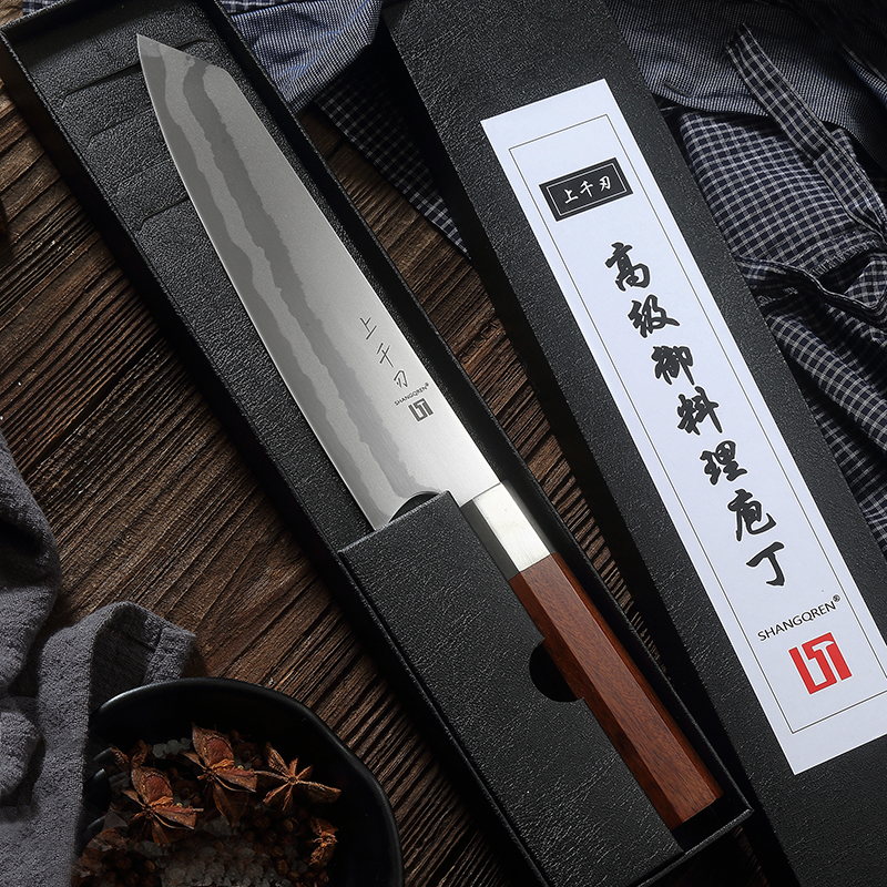 New Damascus Chef Knife Stainless Steel kitchen Knife Japanese Santoku Knives Sharp Cleaver Slicing Steak knife Cooking Tool