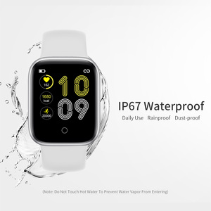 Image 2 - RUNDOING NY07 women smartwatch Waterproof Blood pressure Heart rate fitness tracker male sport smart watch For Android IOS