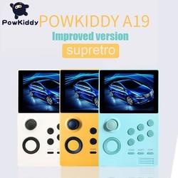 Powkiddy A19 Il Vaso di Pandora Android Supretro Console di Gioco Portatile Schermo Ips Built-in 3000 + Giochi 30 3D Giochi Wifi scaricare