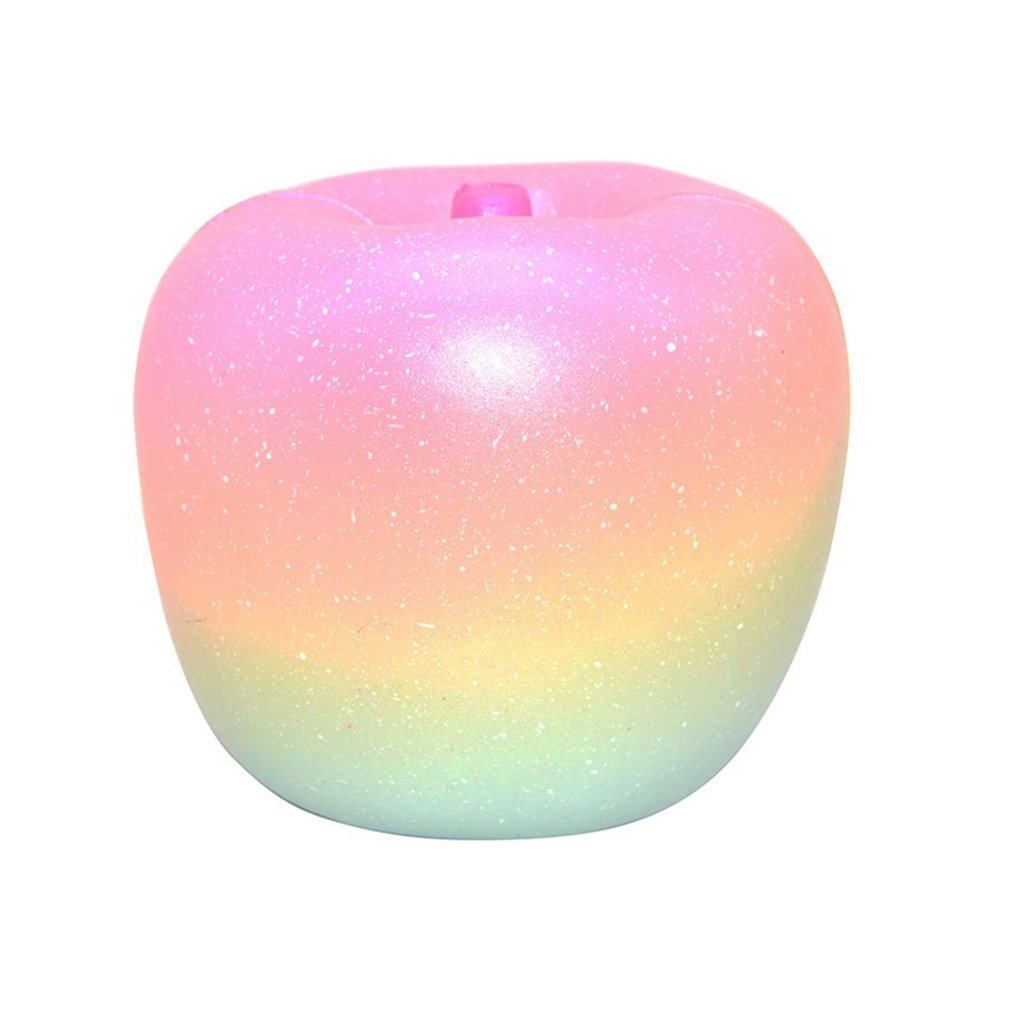 OCDAY Squishy Galaxy Apple Peach Squishies Cream Scented Slow Rising Squeeze Toy Original Package Stress Reliever Toys