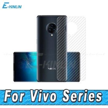 Перейти на Алиэкспресс и купить 3D углеродное волокно задний экран протектор для Vivo NEX S A 3S 3 5G задняя крышка Защитная пленка (не закаленное стекло)