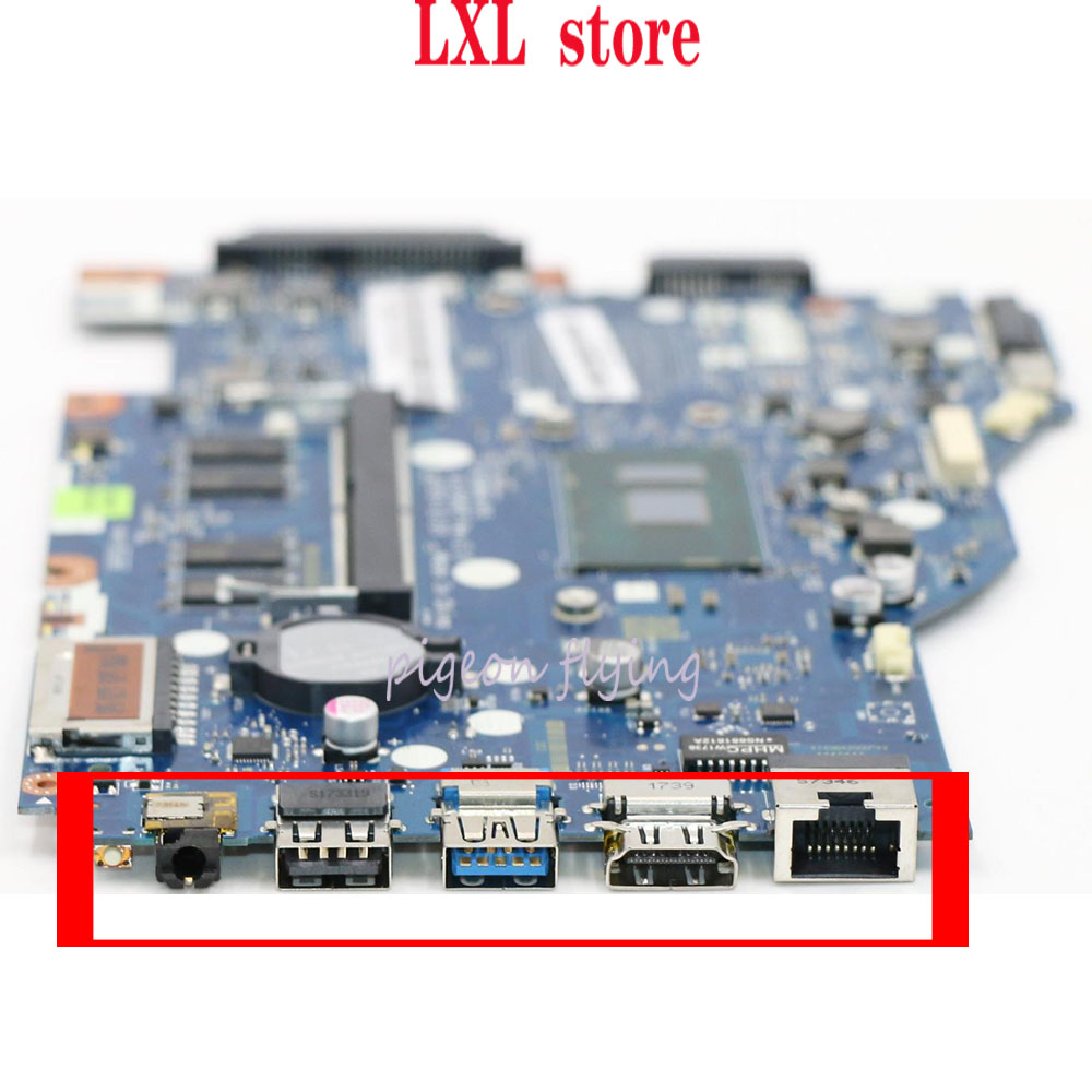 NEW 80UC For Lenovo Ideapad 110-14 ISK Laptop Motherboard UMA LA-D562P CPU(4405U/3855U) DDR4-4GB FRU 5B20L82881 5B20L82886 Test
