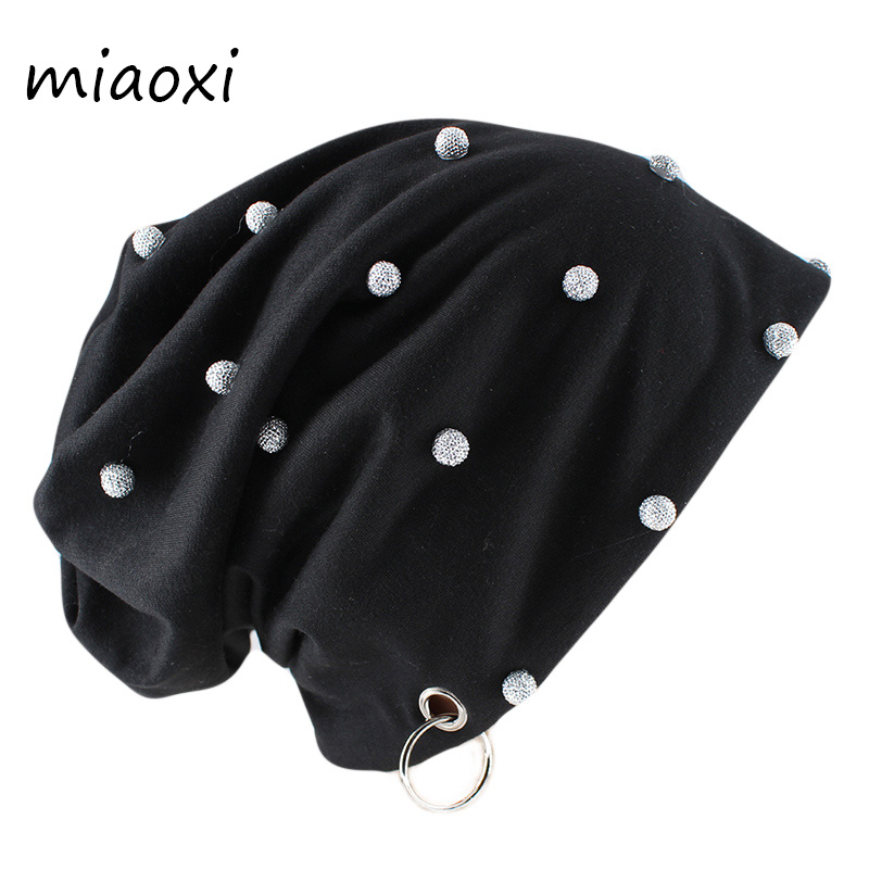 MIAOXI Fashion Women Girls Autumn Winter Beanies Skullies New Style Beauty Hat Warm Hip Hop Outdoor Gorras 5 Colors Band Bonnet
