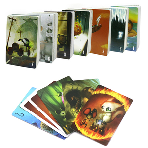 dixit cards game, 84 cards, English & Russian education board game for Children family party fun table game(China)