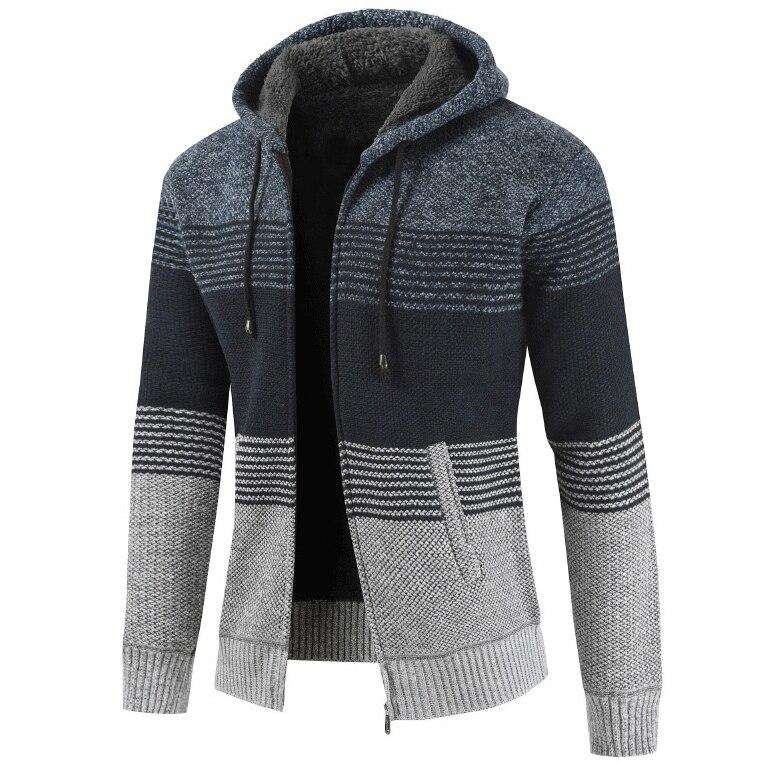 Hdabc017d4b6a4a2aa384f666cf4452946 NEGIZBER 2019 Winter Mens Coats and Jackets Casual Patchwork Hooded Zipper Coats Men Fashion Thick Wool Jacket Men Streetwear