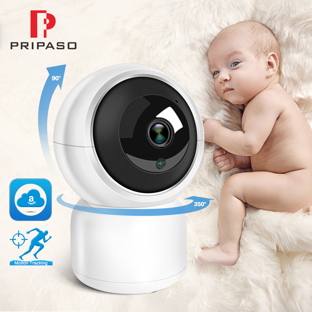 Wifi Smart IP Camera HD 1080P Auto Tracking Camera Home Security Surveillance IR Night Vision Baby Monitor Camera