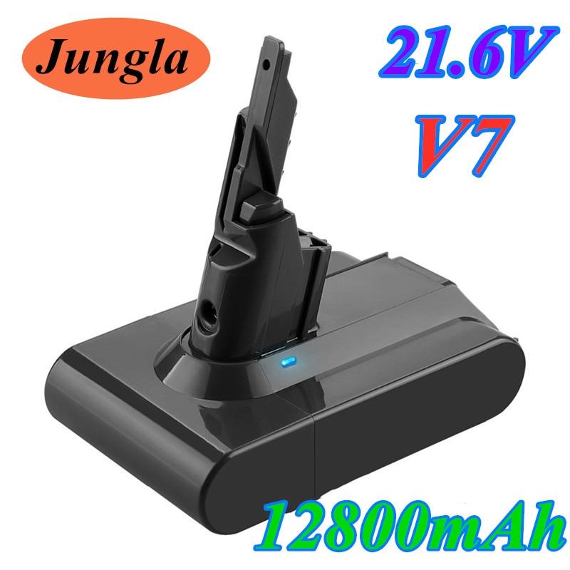 US $22.18 25% OFF|Original 21.6V 12800mAh Li ion V7 12.8Ah Batteries For Dyson V7 Absolute V7 Vacuum Cleaner Replacement Power Tools