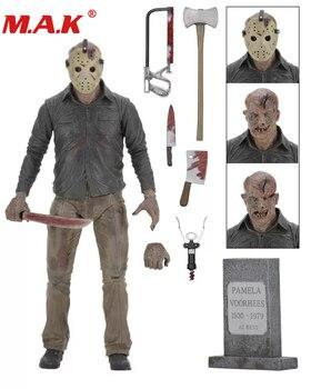 Nuevo Viernes 13 el último capítulo Freddy Vs Jason juguete de dibujos animados MODELO DE figura de acción regalos de muñecas con caja