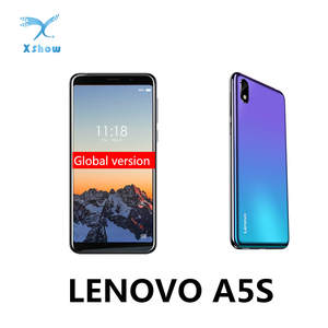 Lenovo A5s 2GB 16GB MT6761 LTE/WCDMA/GSM Adaptive Fast Charge Quad Core Face Recognition