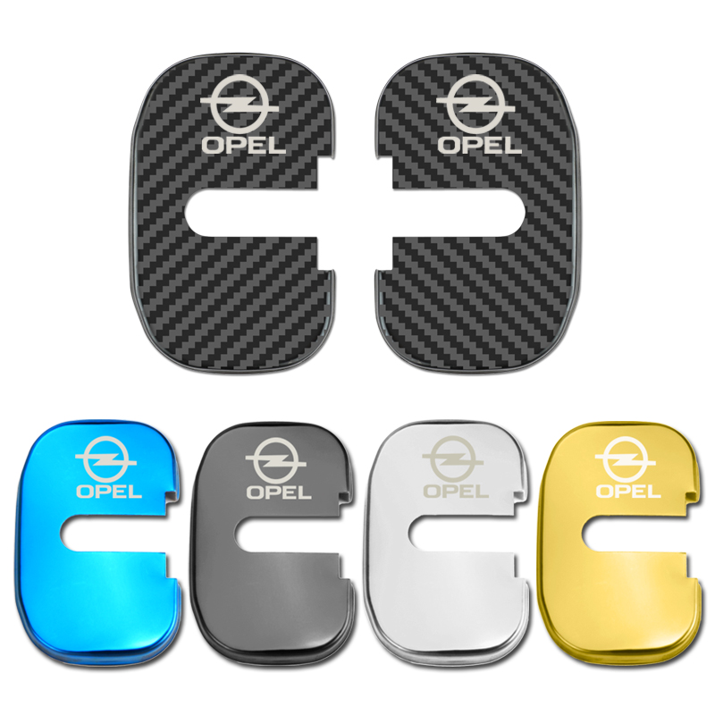 Car Styling Auto Door Lock Cover Case For Opel Insignia Astra GTC Car Sticker Accessories