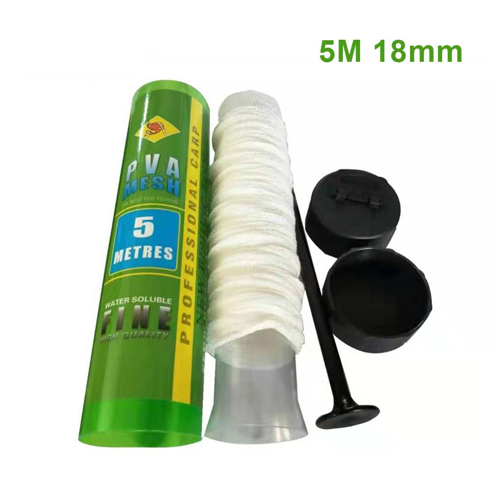 Fishing Accessories Carp Feeder Euclidean Mesh For Water Soluble Environmental Protection PVA Net Tackle