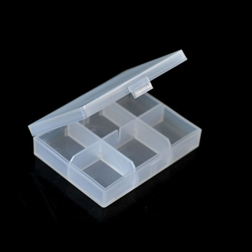 6 Grids Pill Box Pastillero Drugs Weekly Pills Case Health Care Medicine Dispenser Storage Tablet Pill Box Splitters