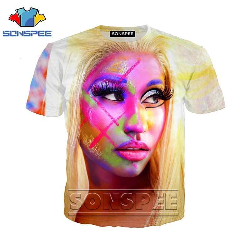 Anime 3d print funny t shirt men Nicki Minaj streetwear Women fashion t-shirt kids Harajuku tee Funny shirts homme tshirt A31
