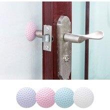 Дверная ручка замок глушитель защитная накладка задняя стенка Краш Protactive Pad Прямая поставка