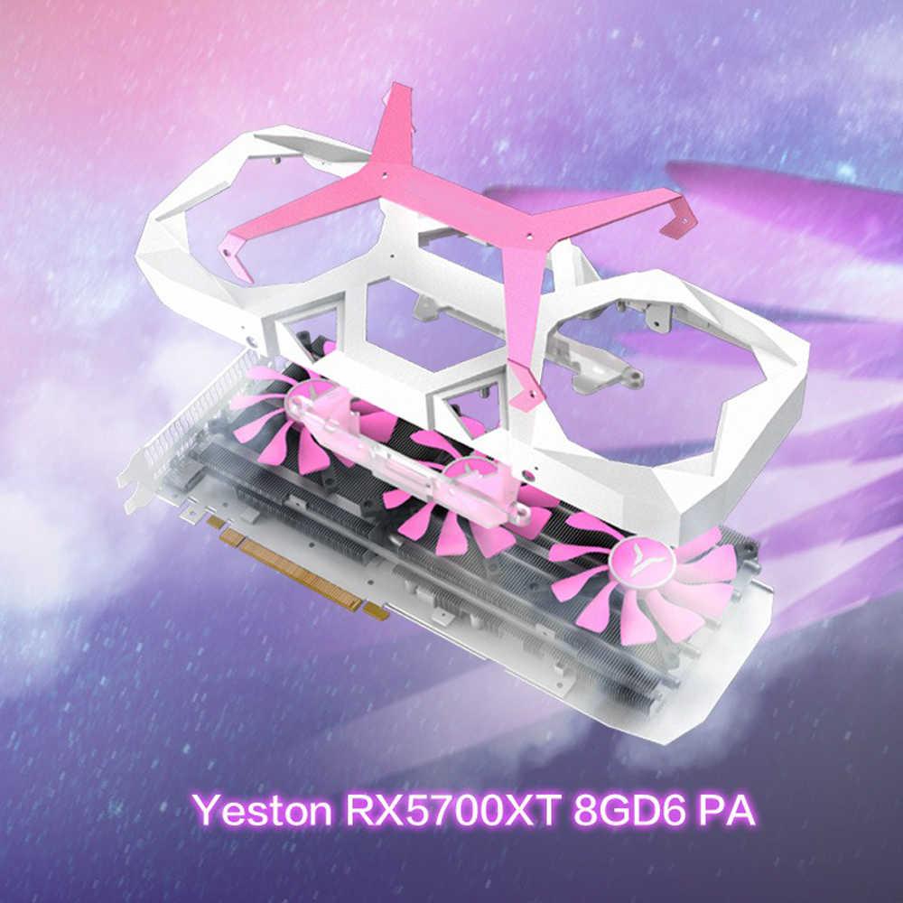 يستون راديون RX 5700 XT GPU 8GB بطاقات الرسومات ألعاب كمبيوتر مكتبي كمبيوتر فيديو دعم DP/HDMI PCI-E X 256bit