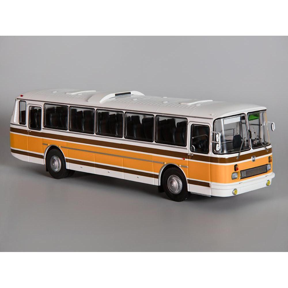 Scale Model 699R White Yellow 1:43 Classicbus Bus Toy Retro Soviet