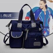 Women Multi-pockets Shoulder Crossbody Bag Portable Outdoor Travel Handbags Multi-functions Large Capacity Tote Bag