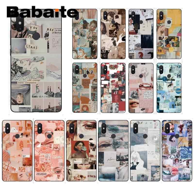 Babaite вы сделаны из звезд красивая девушка эстетический чехол для телефона xiaomi6 MIX2 note3 redmiK20 7 xiaomi8 SE redminote4 note5 5A