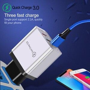 30 Вт Быстрая зарядка 3,0 USB зарядное устройство для iPhone XR 7 8 ЕС США вилка настенный мобильный телефон быстрое зарядное устройство для samsung huawei ...