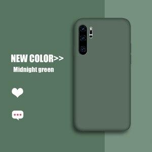 Роскошный чехол карамельного цвета из жидкого силикона ТПУ для Huawei P40 P30 P20 Lite Y5 Y6 Y7 Y9 2019, чехол для Huawei Honor 10i 20 20i Pro