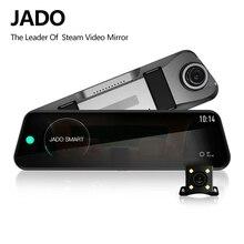 ג אדו D820s רכב Dvr זרם RearView מראה דאש מצלמה avtoregistrator 10 IPS מגע מסך מלא HD 1080P רכב מקליט דאש מצלמת