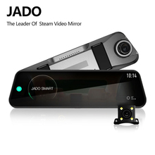 JADO D820s coche Dvr corriente espejo retrovisor cámara de salpicadero era avtoregistrator 10 Pantalla táctil IPS 1080P HD completo grabador de coche cámara de salpicadero