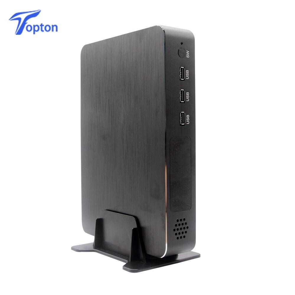 Topton 2019 Newest Gaming Mini PC I5 9400F 6 Cores 6 Threads Nvidia GTX 1050TI 4GB Mini Computer Rich Interfaces