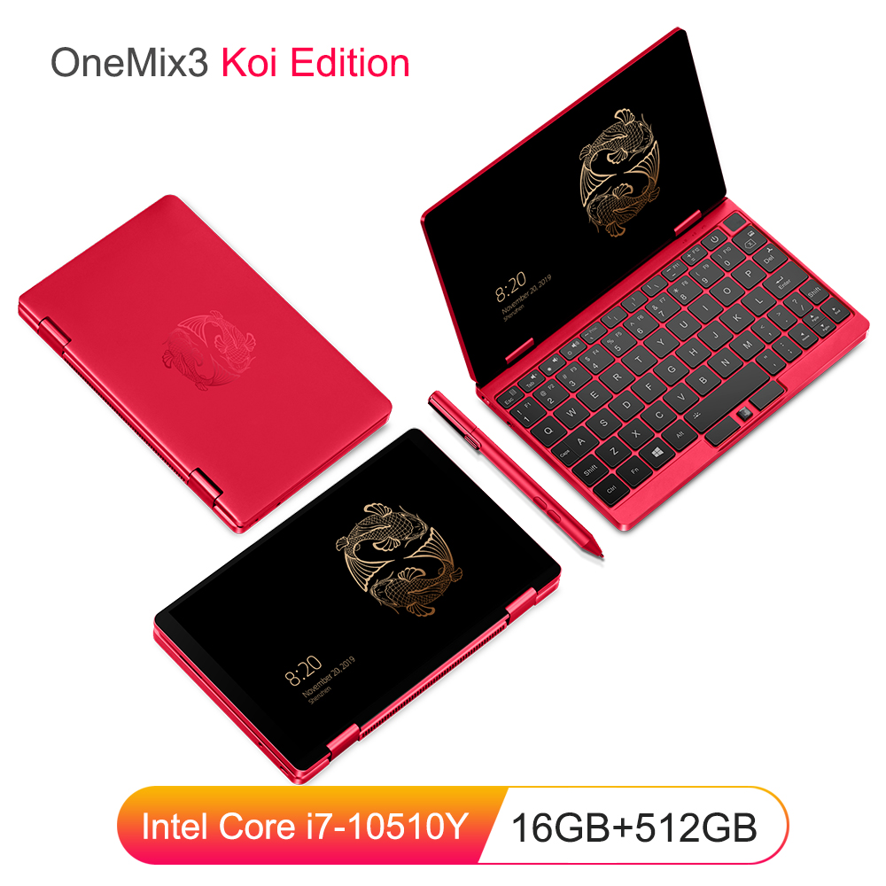2020 Koi Limited Edition Laptop 8.4 inch Notebook Intel Core i7 16G RAM 512GB PCIe SSD 2560*1600 IPS Touch Screen Pocket Laptops image