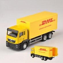 1: modelo do caminhão do correio do carro do frete da escala 64 para o presente ou a coleção da criança
