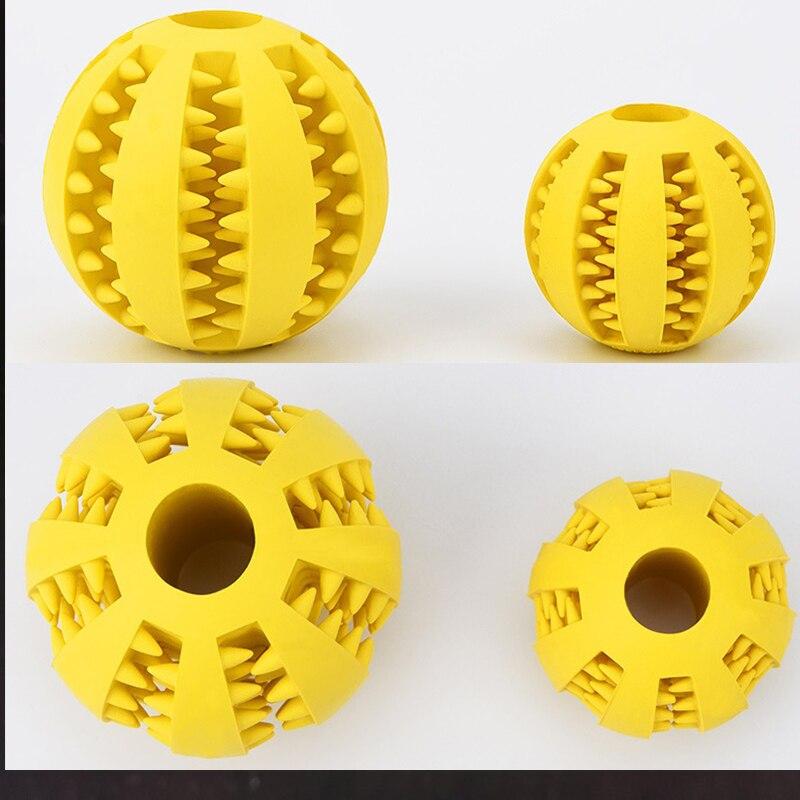 Новинка, игрушки для домашних животных, 5 см, Φ, шар из натуральной резины, мяч для чистки зубов, интерактивные игрушки для жевания кошек и собак-3