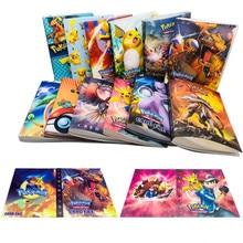 Мультфильм Аниме 240 шт. держатель альбомная игрушка Коллекция игры Pokemones карты Альбом Книга топ для детей подарок