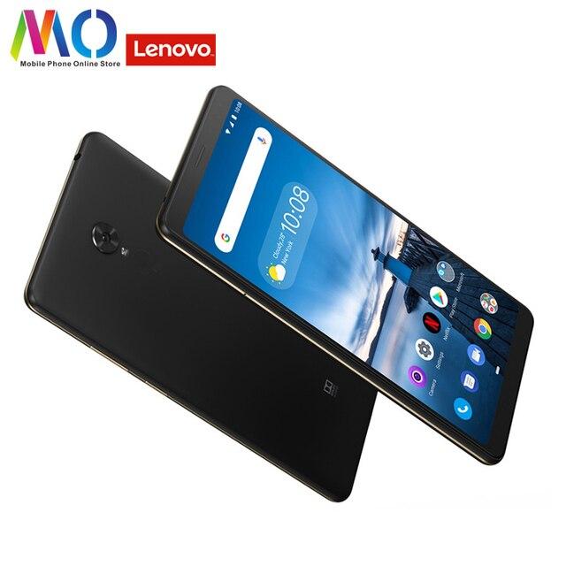 Global Lenovo Tab V7 PB 6505MC 3GB 32GB 4G FDD LTE Android P Mobile Phone 6.9 inch FHD Screen Snapdragon 450 5180mAh OTA Update