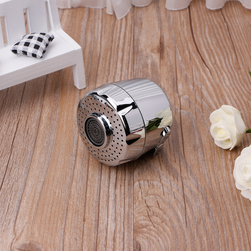 22mm Kitchen Faucet Nozzle Aerator Bubbler Sprayer Water-saving Tap Filter Two Modes Universal Tap Shower Rotatable Filter