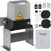 Abridor automático de portão de deslizamento  porta  controle remoto de motor de parada aberta  600kg