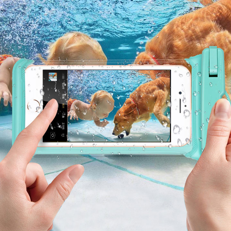 Universal Waterproof Case For iPhone X XR XS MAX 8 7 6 5 Swiming Dry Pouch Phone Covers For Huawei Xiaomi Underwater Phone Bag