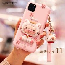 Piggy Cartoon Phone Case for iPhone 11